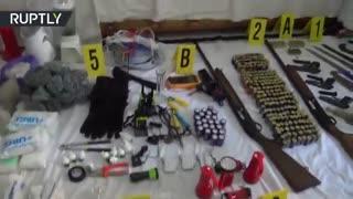 دستگیری تروریست ها: پلیس کشف سلاح ها و مهمات در خانه مراکش
