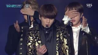 اجرا Blood Sweat & Tears و Fire از BTS در SBS AWARDS FEStival - پیشنهادی