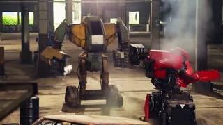 ویدئو اولین مبارزه بین ربات ها در جهان