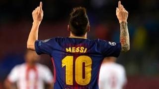 خلاصه بازی بارسلونا 3-1 المپیاکوس