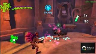 تست کردن سرعت بازی Crash Of The Titans در شبیه ساز PSP Gold