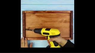 آموزش ساخت سینی غذاخوری چوبی