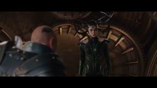 """نبرد ثور و هِلا در فیلم """"(Thor 3 (2017"""""""