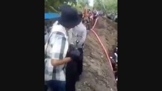 زنده به گور کردن مردم میانمار