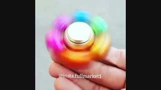 اسپینر ۶ پره فلزی توپی رنگی