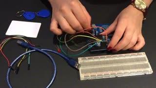 آموزش RFID با آردوینو کارت مستر و ورود به سیستم