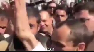 تصویر فرد حمله کننده به حمید بقایی پس از جلسه دادگاه