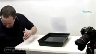 آموزش چگونه از چکیدن قطره آب عکس بگیریم
