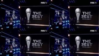 کریستیانو رونالدو بهترین بازیکن سال 2017 فوتبال جهان شد