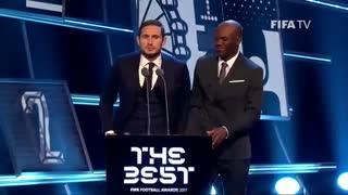 بهترین های فوتبال جهان در مراسم فیفا 2017