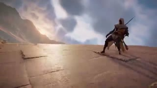 تریلر هنگام عرضه بازی Assassin's Creed Origins