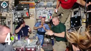 ویدیو اتفاقاتی که فقط فضانوردان میتوانند تجربه کنند