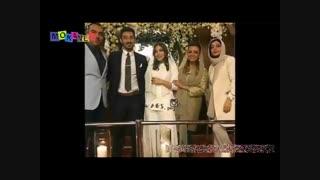 مراسم ازدواج رضا قوچان نژاد