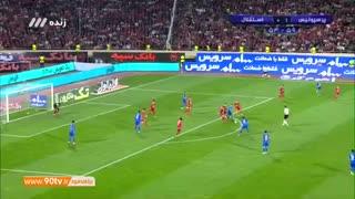 خلاصه بازی فوتبال پرسپولیس و استقلال با کیفیت HD