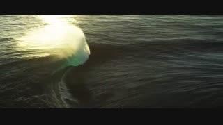 رقص امواج - صحنه هایی جذاب از امواج دریا