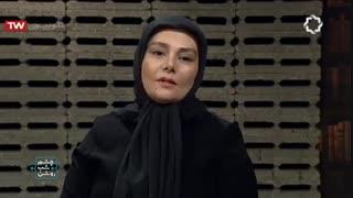 گفتگوی غیر منتظره با هنگامه قاضیانی در برنامه زنده چشم شب روشن محمد صالح علا