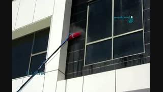 نماشوی - شستشوی نمای ساختمان بدون داربست