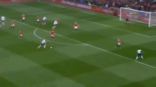 خلاصه فوتبال منچستریونایتد 1-0 تاتنهام