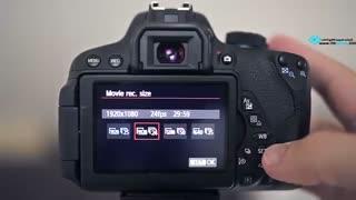 آموزش عکاسی ، تنظیمات ویدیو روی دوربین های دیجیتال DSLR