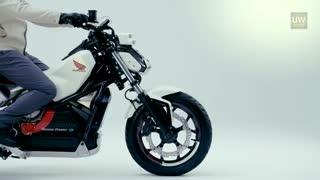 کانسپت موتور سیکلت جدید هوندا با قابلیت حفظ تعادل در حالت ایستاده