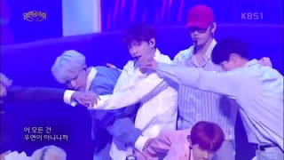 اجرا DNA و Fire از BTS در KBS Open Concert