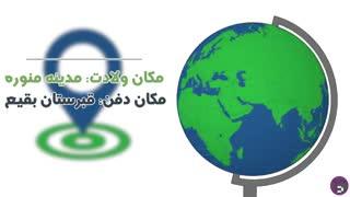 موشن گرافیک با معصومین(ع)، این قسمت امام محمد باقر (ع)