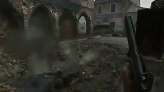 نمایشی زیبا از بازی Call of Duty: WWII