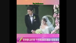 عکس و فیلم مراسم ازدواج بازیگران سریال  نسل خورشید_ بعد دو سال زندگی مشترک در حال طلاق هستند:(