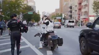 Halloween Levitating Star Wars Speeder Costume