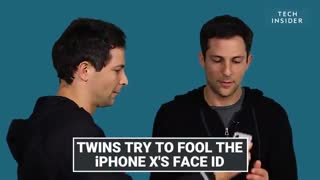 تشخیص چهره دوقلوهای همسان توسط فیس آیدی آیفون 10
