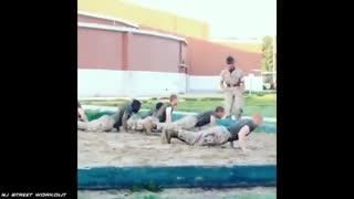 تربیت بدنی نظامی