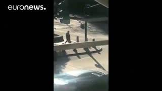 ویدئوی عامل حمله با وانت در منهتن نیویورک