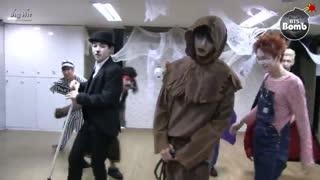 ورژن هالووین دنس پرکتیس War Of Hormone از BTS