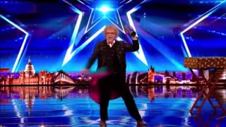 شعبده بازی خنده دار Britain's Got Talent 2017