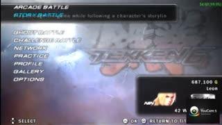 تست کردن سرعت بازی Tekken 6 در شبیه ساز PSP Gold