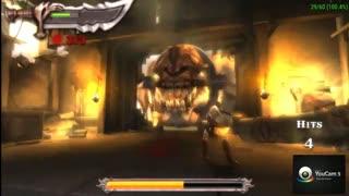 تست کردن سرعت بازی God Of War Chains Of Olympus در شبیه ساز PSP Gold