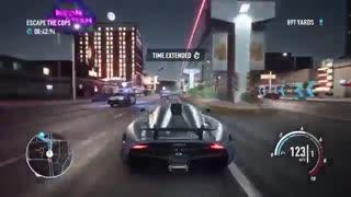20 دقیقه از گیم پلی ابتدایی بازی Need For Speed Payback