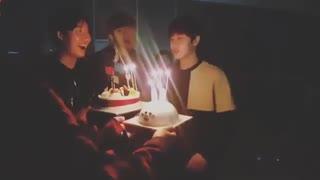 قسمتی از جشن تولد یونگ سنگ♡.♡