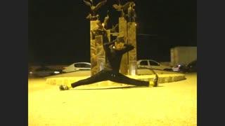 حرکت کششی نمایشی در ساحل بوشهر