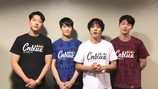 17.11.04 CNBLUE Thank you Message for 2017 ARENA TOUR「STARTING OVER」_  Osaka