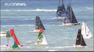 آغاز مسابقات قایقرانی اطلس نوردی «ژاک وابر»