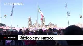 راهپیمایی زامبیها در مکزیک (18+)