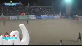 گل فوتبال ساحلی ایران گل برتر جهان شد