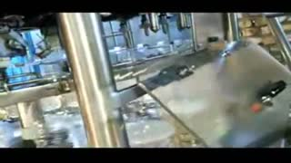 ویدئو دستگاه پرکن تینر روغنی 10 نازل روتاری اتومات