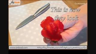 درست کردن دسته گل با توت فرنگی-فروشگاه اینترنتی سندباد