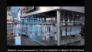 ویدئو دستگاه منوبلوک مخصوص آب معدنی و مایعات رقیق