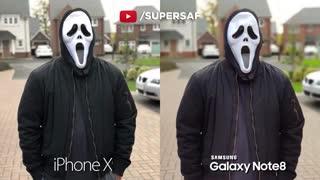 مقایسه دوربین iPhone X و Galaxy Note 8