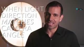 نور تخت flat light-عالی برای عکس پرتره و سلفی