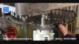 ویدئو دستگاه پرکن و دربند روغن زیتون و روغن مایع