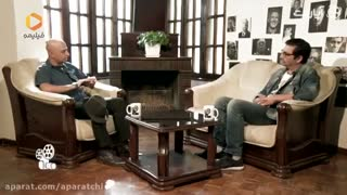 گفتگوی غیرمنتظره با امین زندگانی در برنامه آپاراتچی